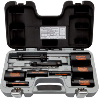 Bahco 3833-SET-101 Superior Hålsågsats