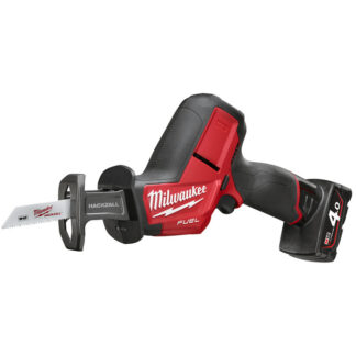 Milwaukee M12 CHZ-402C Tigersåg med batterier och laddare