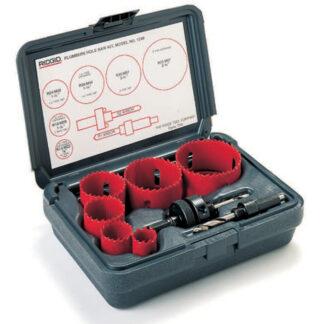 Ridgid 1250 Hålsågsats universalsats, 19-64 mm + 2 st. hållare