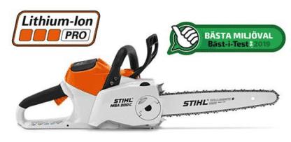 Stihl Motorsåg MSA 200 C-BQ Utan Batteri Och Laddare